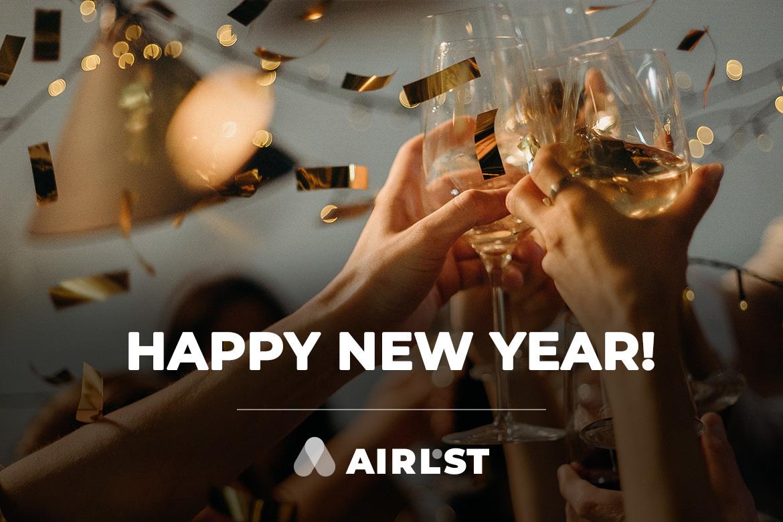 AirLST wünscht ein frohes neues Jahr!