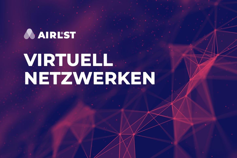 Virtuelles netzwerken, online netzwerken, networking event