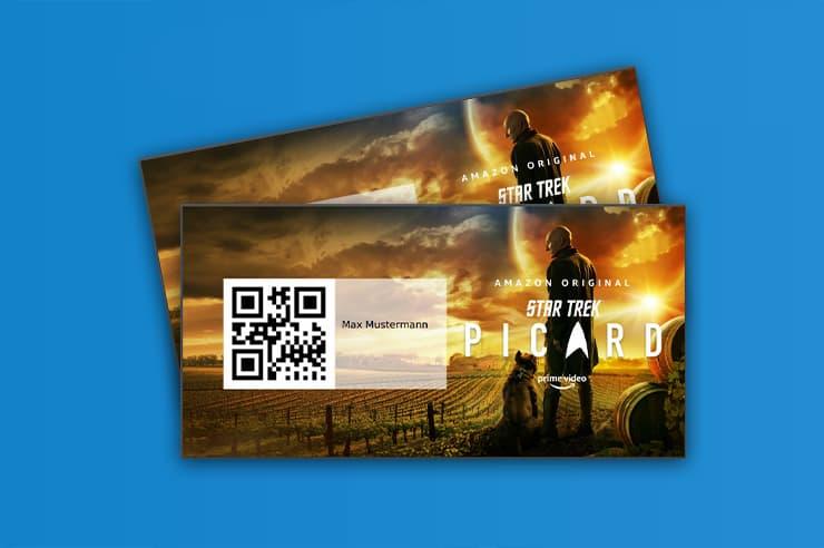 Amazon PDF Tickets