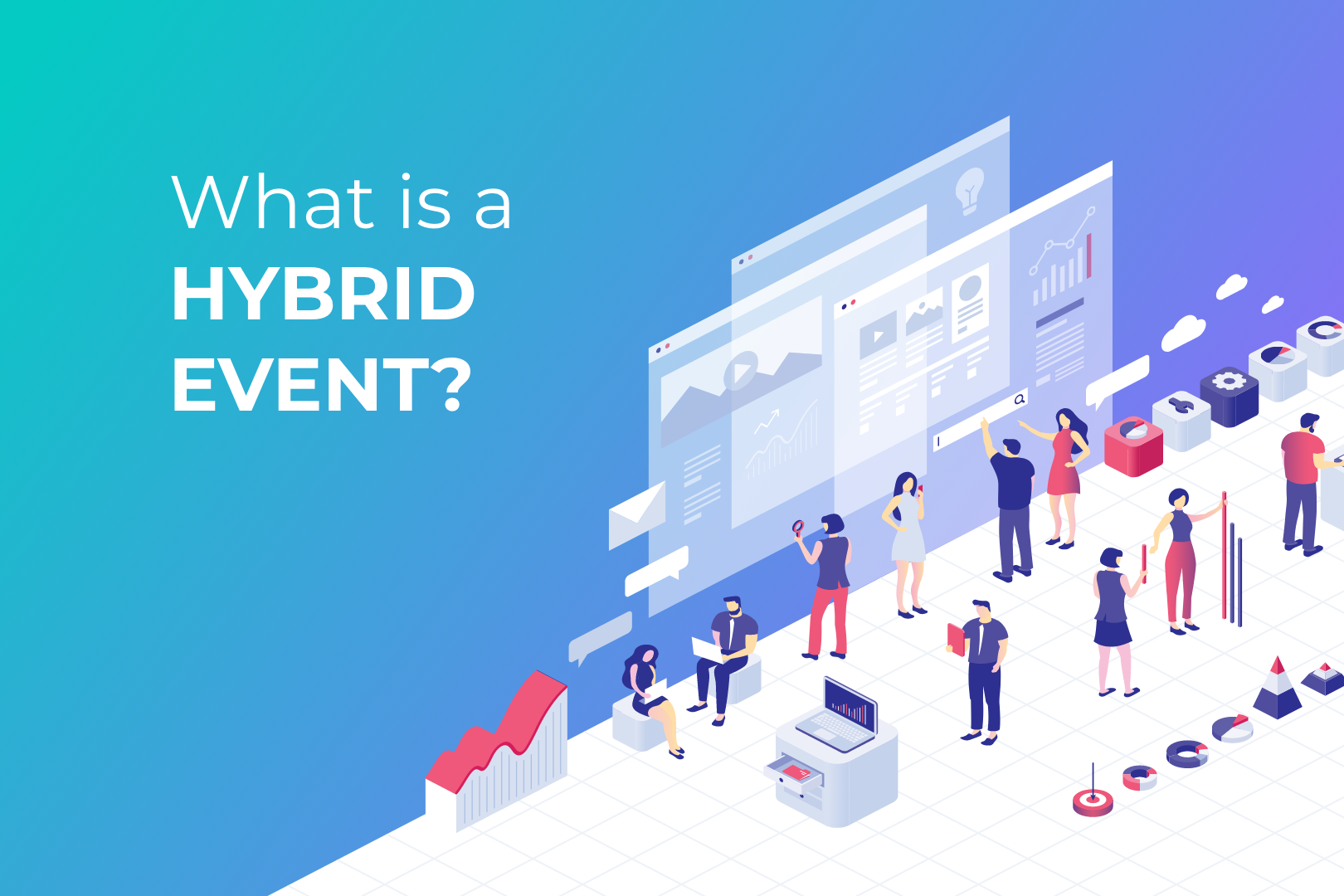 Hybrid Event, concept for hybrid event, case study hybrid event