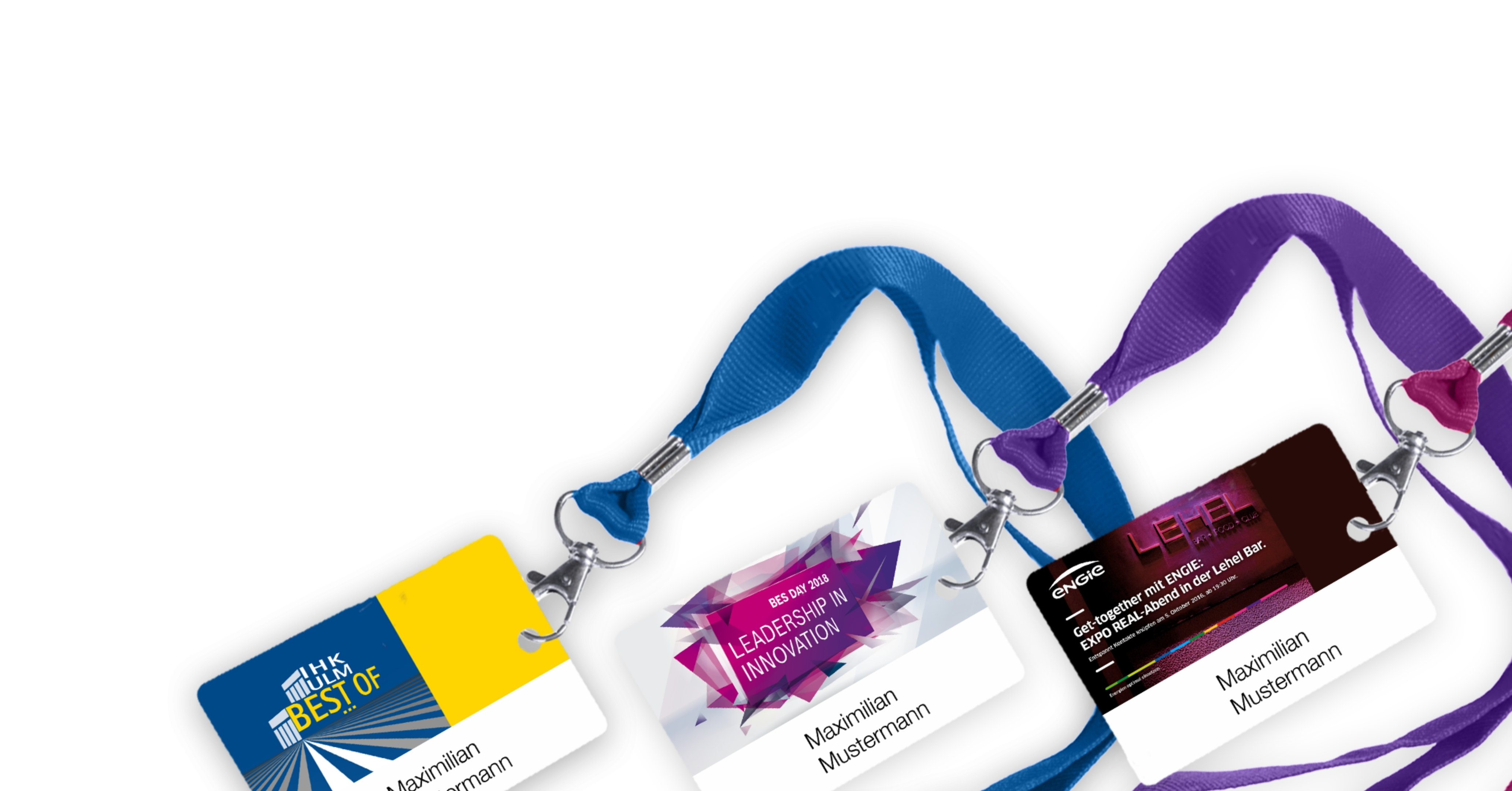 Name Badges and Lanyards, how to print name badges successfully