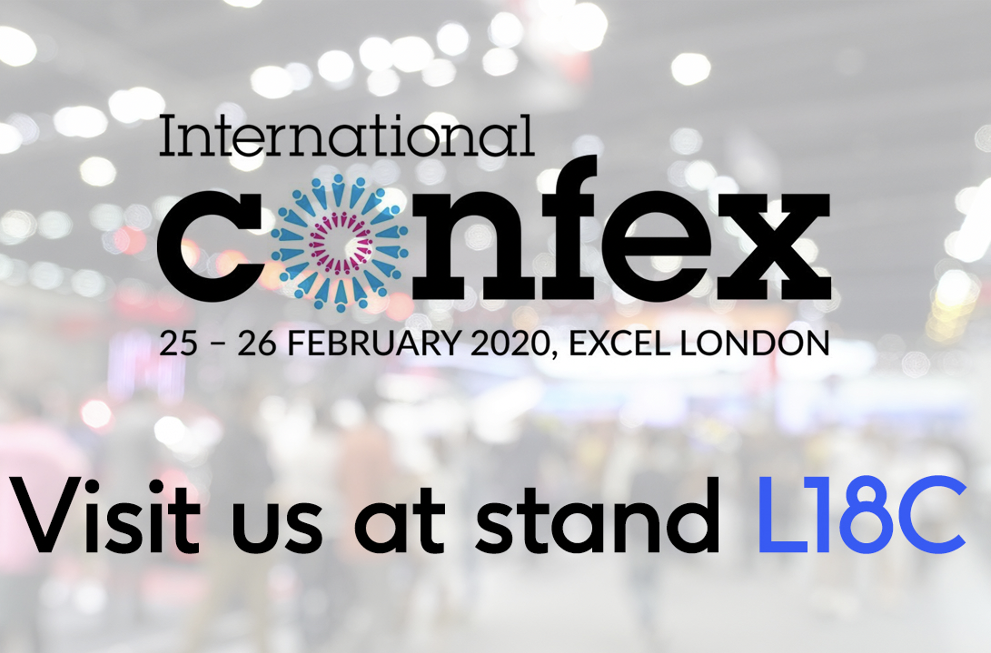 Open Audience exhibiting at International Confex 2020 at the Excel London