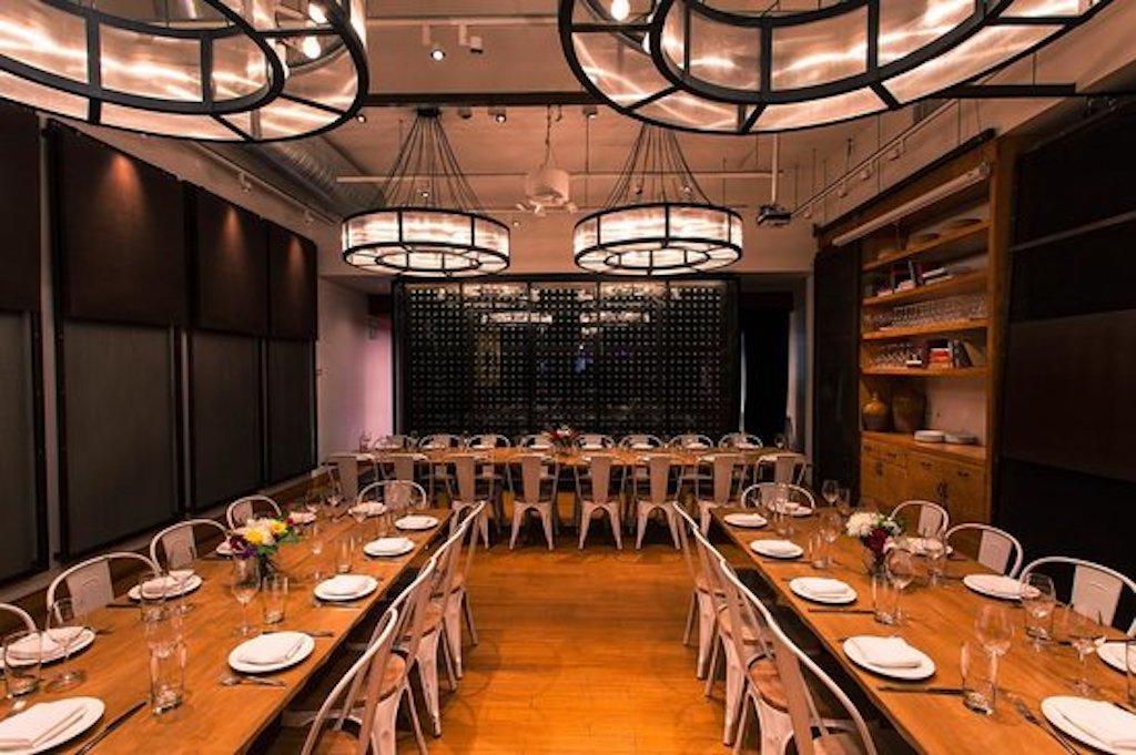 corkbuzz interior dining room