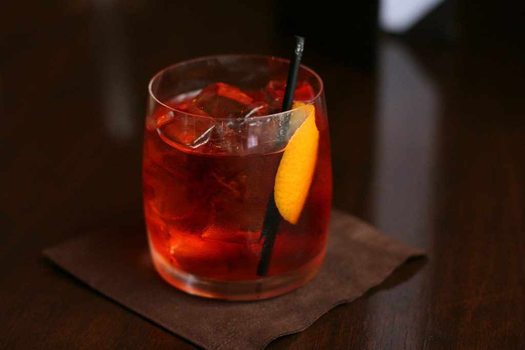 winter negroni cocktail recipe