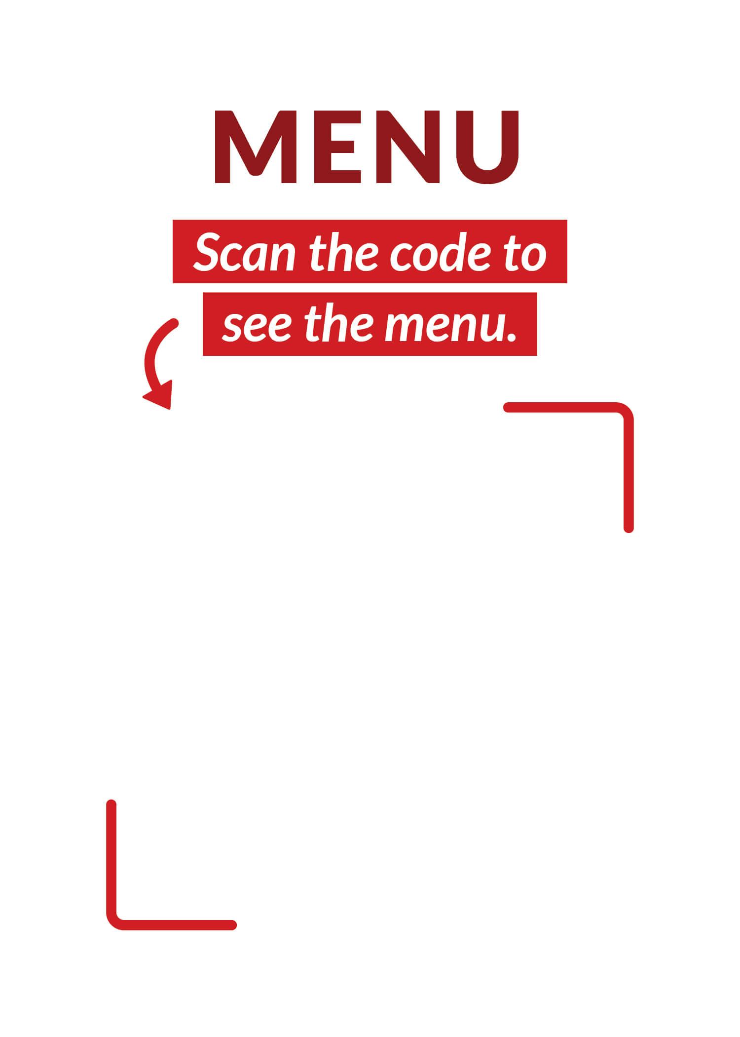 vertical qr code template