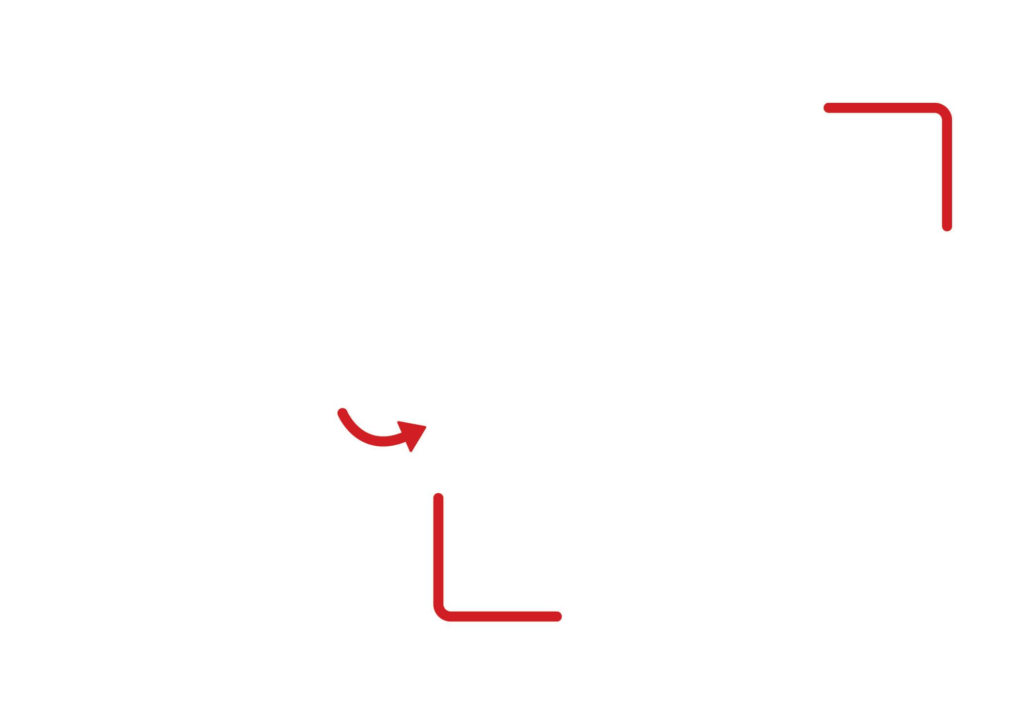 horizontal blank qr code template