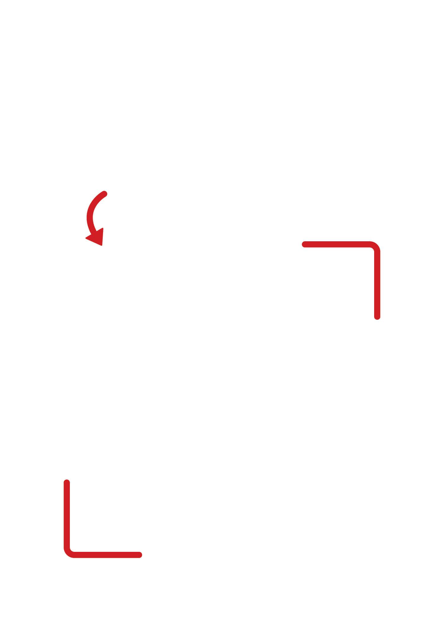 vertical blank qr code template