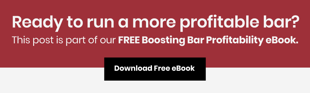 boosting bar profit margin ebook