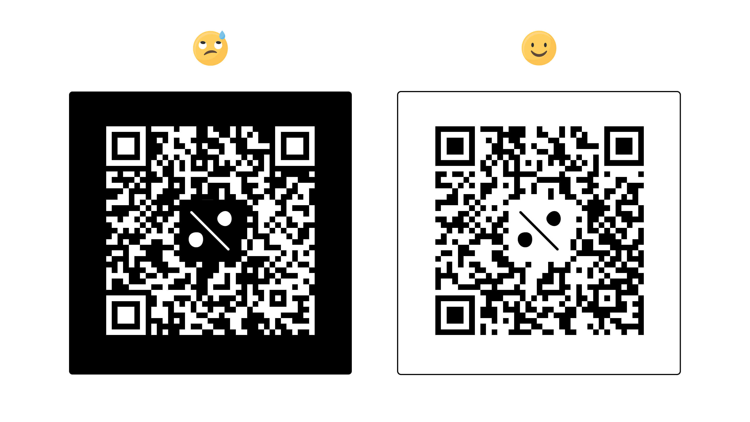 qr code background example