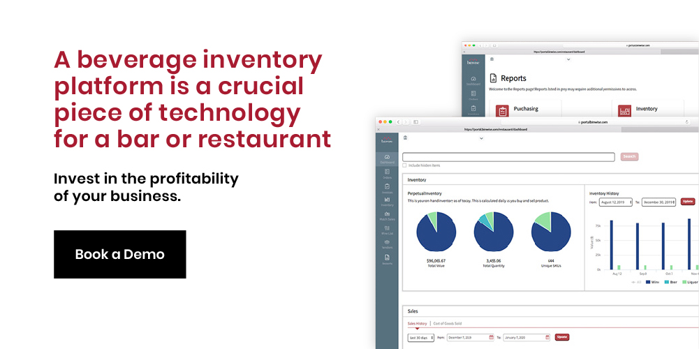 Liquor inventory software demo