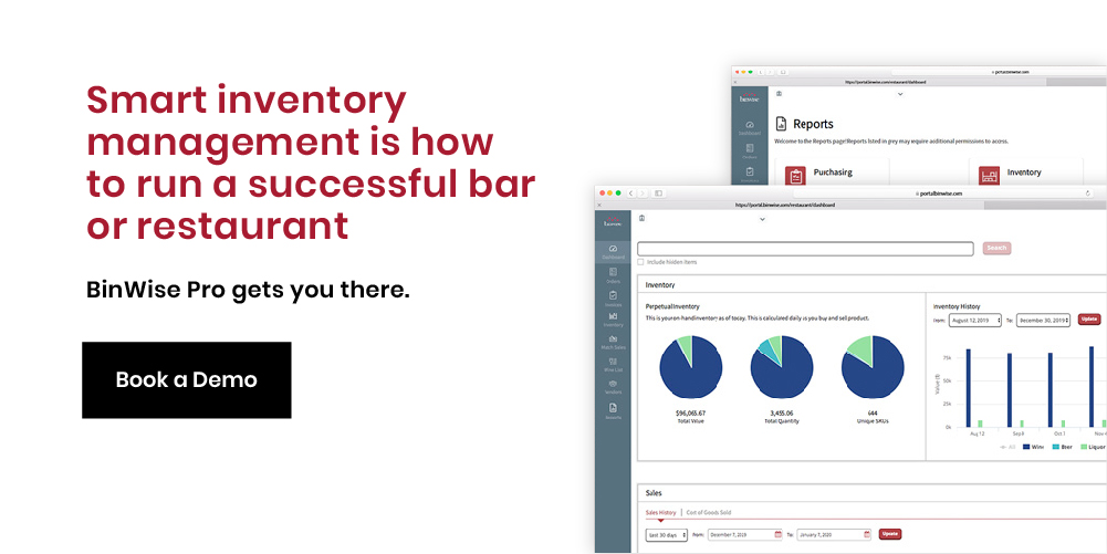 bar inventory software
