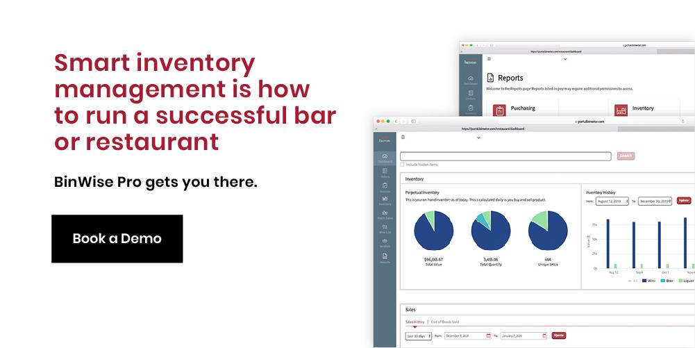 liquor inventory app