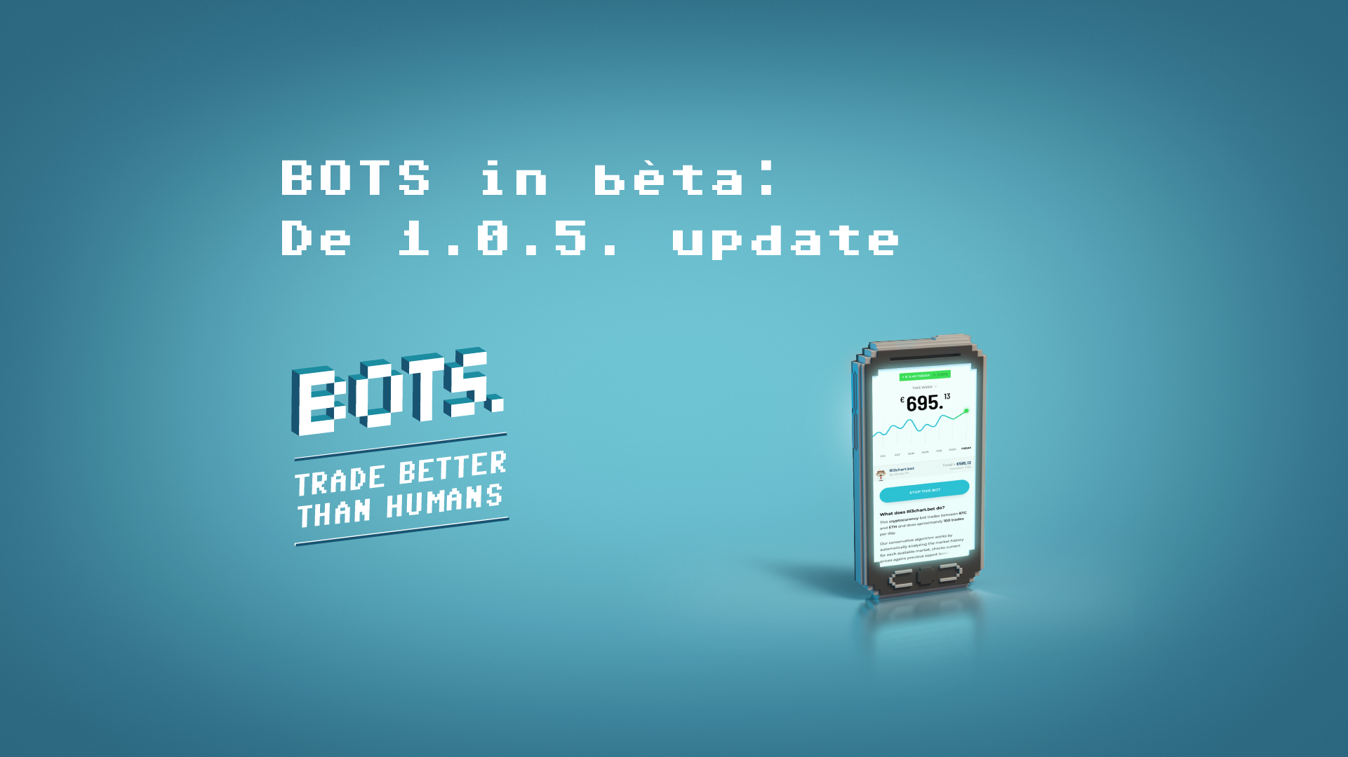BOTS by RevenYOU | BOTS in beta: The 1.0.5. update
