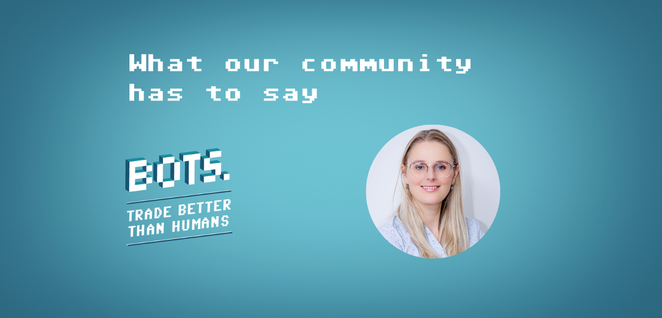 The BOTS community speaking: Alexia