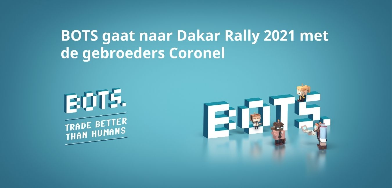 BOTS goes to Dakar Rally 2021 with the brothers Coronel