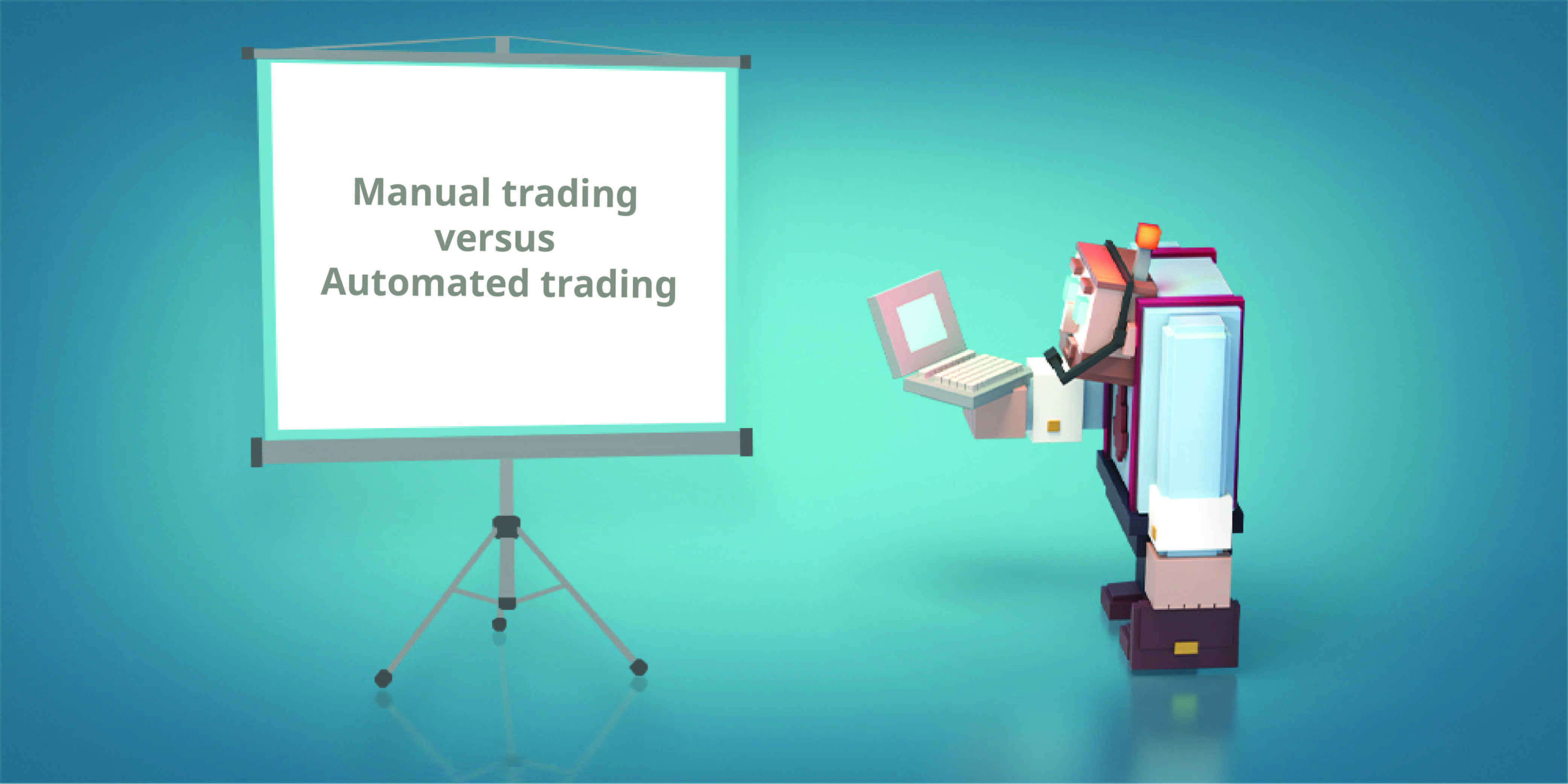 Investing for beginners-Handmatig versus automated investing