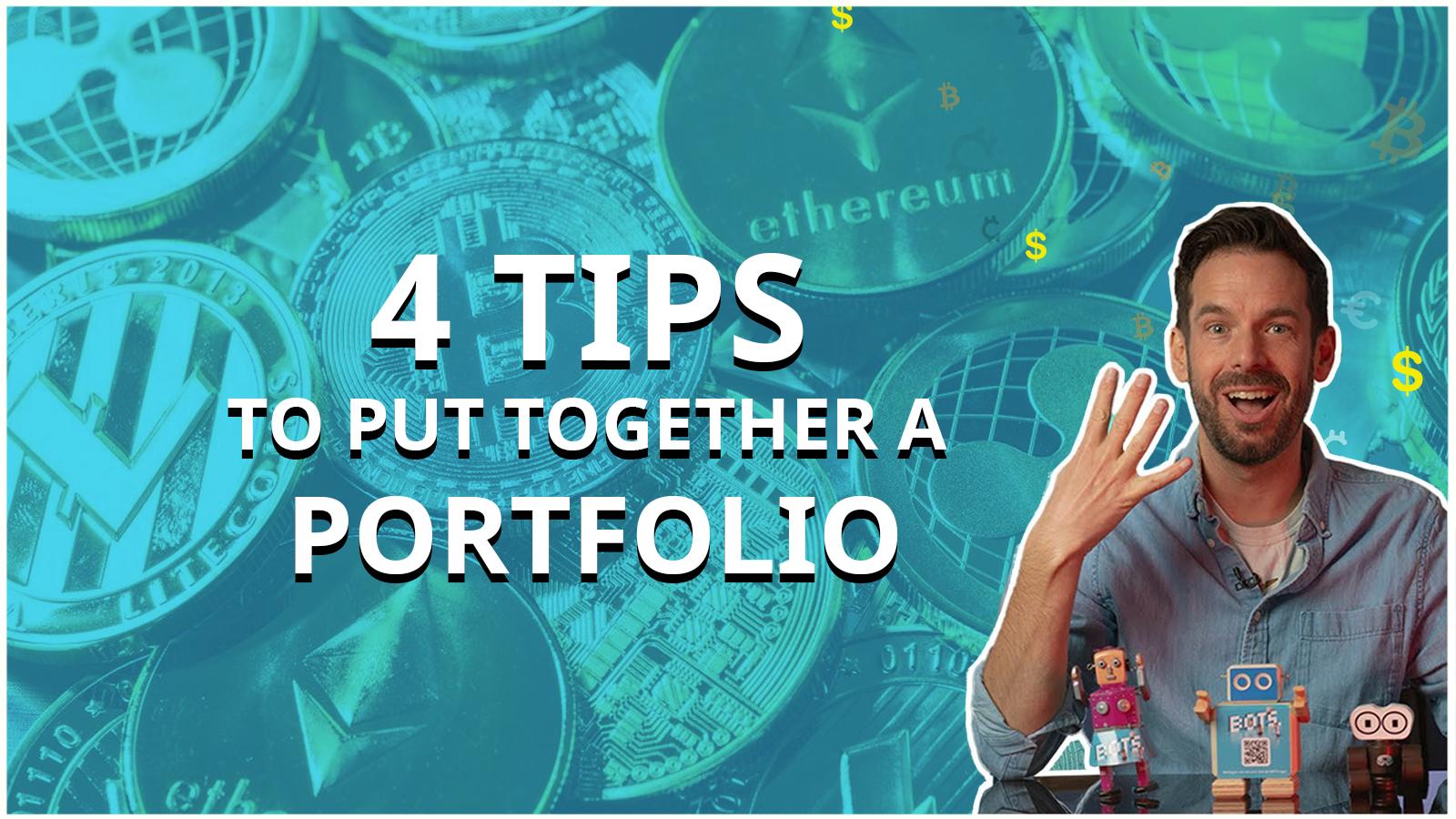 4 best ways to create your BOTS portfolio