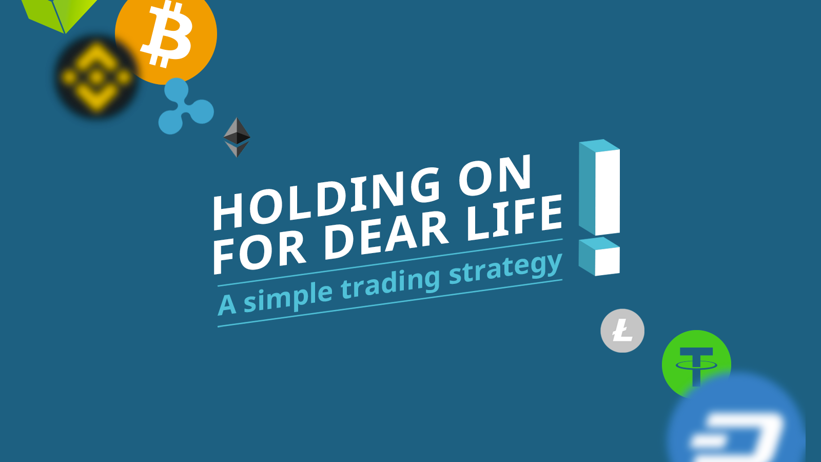 HODLING on for dear life: A simple trading strategy