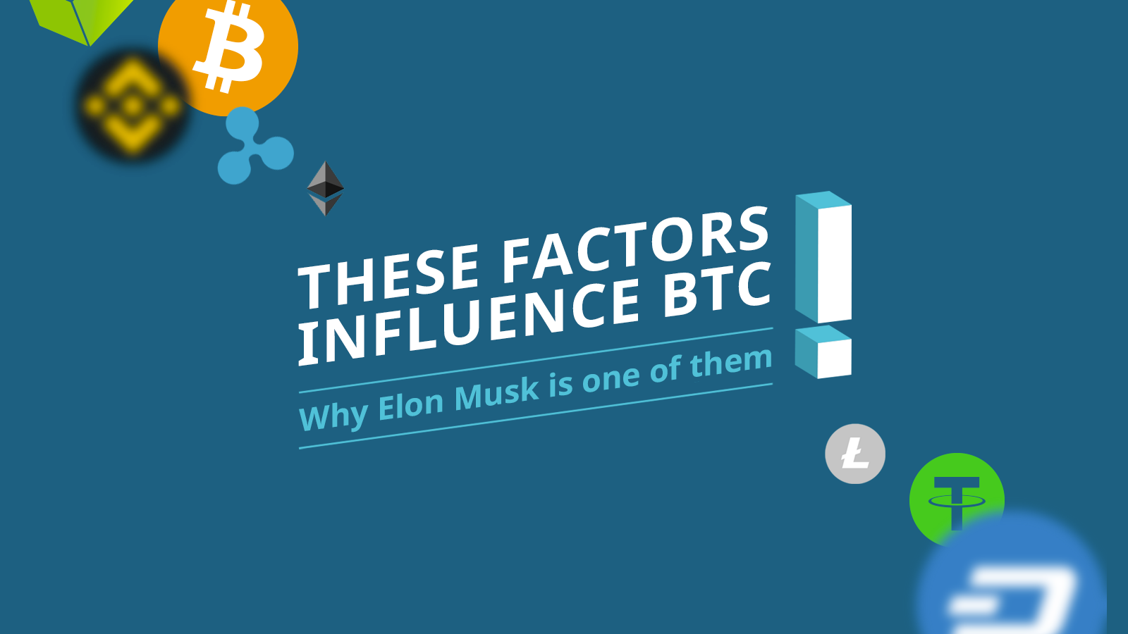 These factors influence the bitcoin (BTC) price: Why Elon Musk is one ofthem