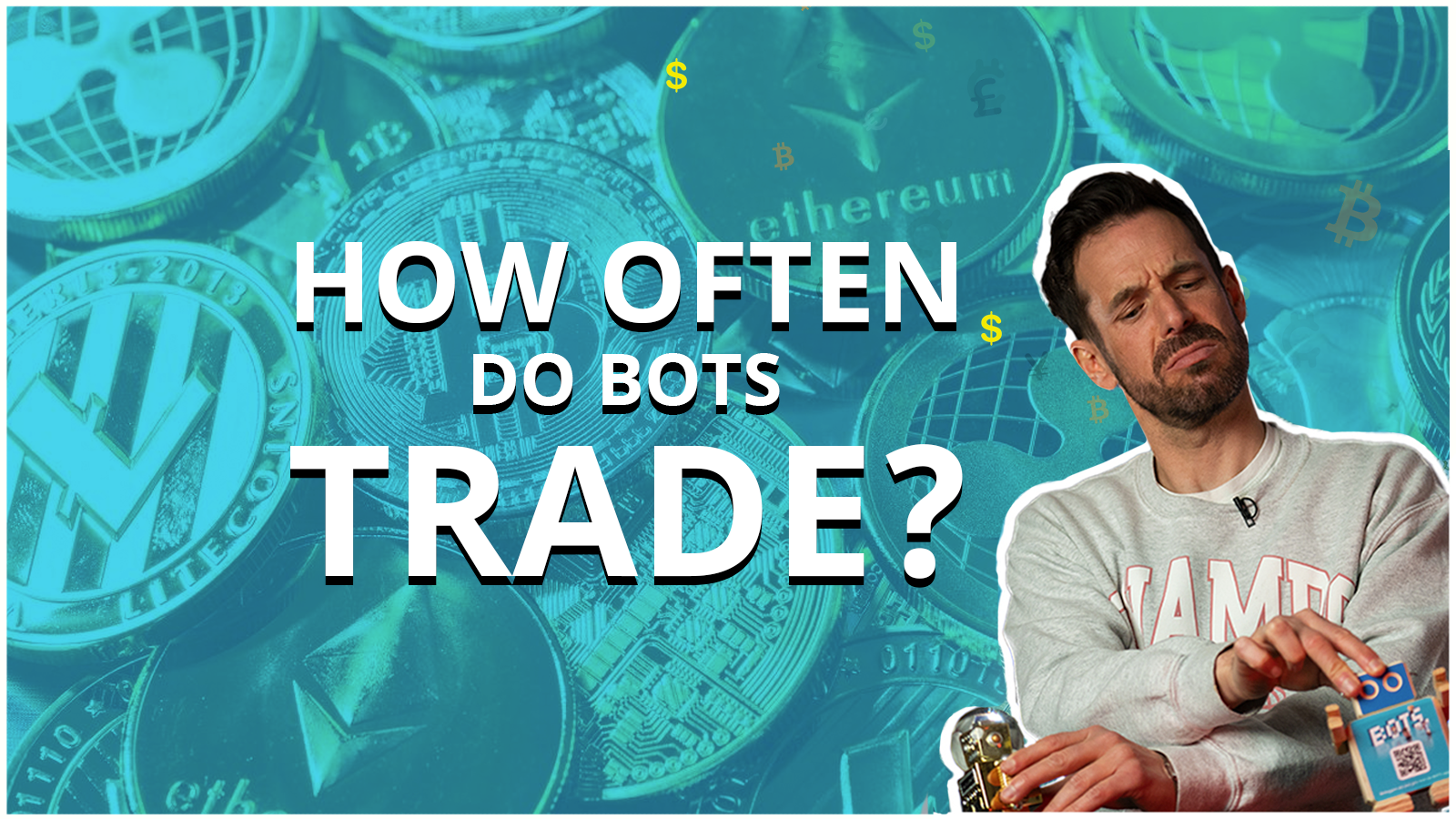 How often do BOTS trade cryptocurrencies? Here's what the expertsays