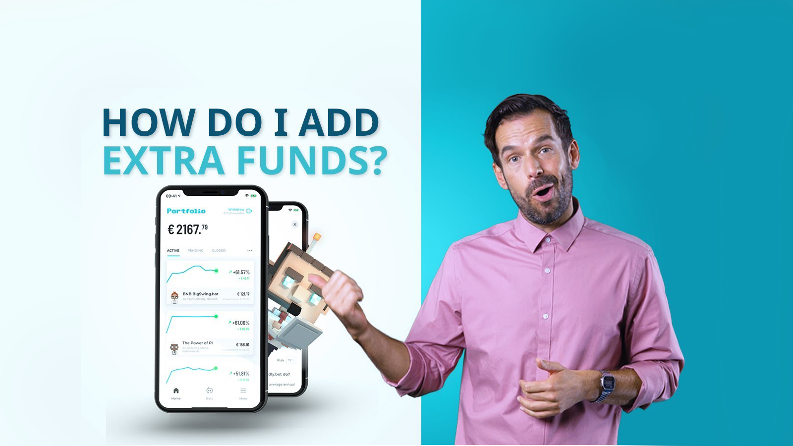 How to add extra funds to the BOTSapp