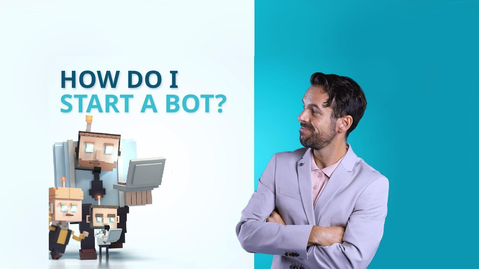 How do I start a bot within the BOTSapp?