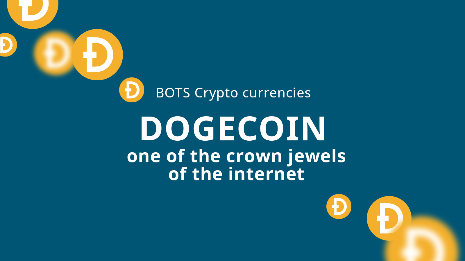 Dogecoin: one of the crown jewels of the internet