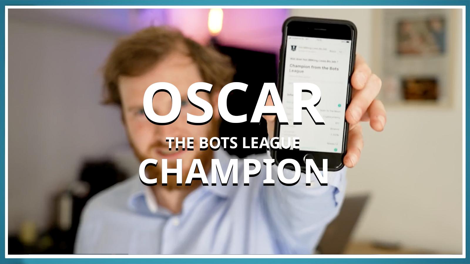 Inside BOTS: Bot-creator Oscar reveals how he started and won the BOTS-League!