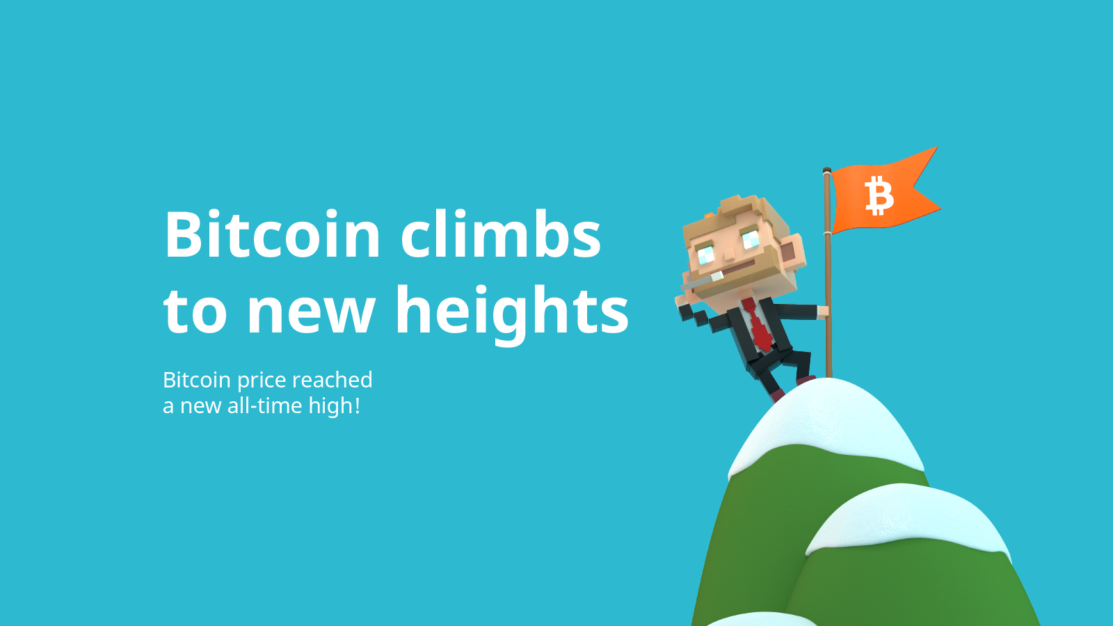 Bitcoin (BTC) price reached a new all-time high!
