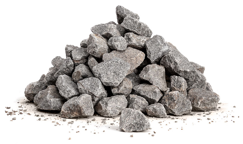 Pile of small rocks