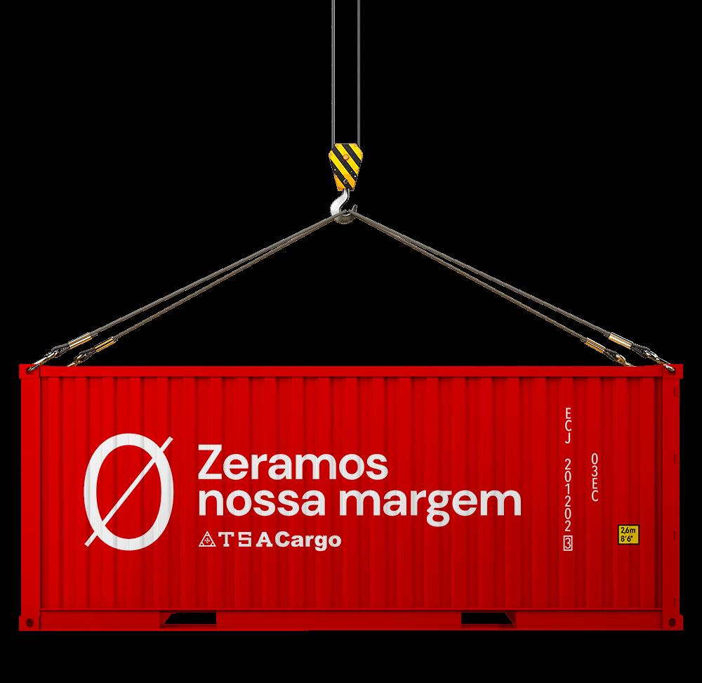 Zeramos nossa Margem no transporte de Container