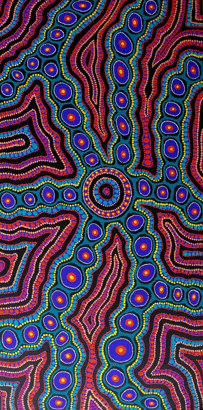 SOLD Veins of Opal Country - original