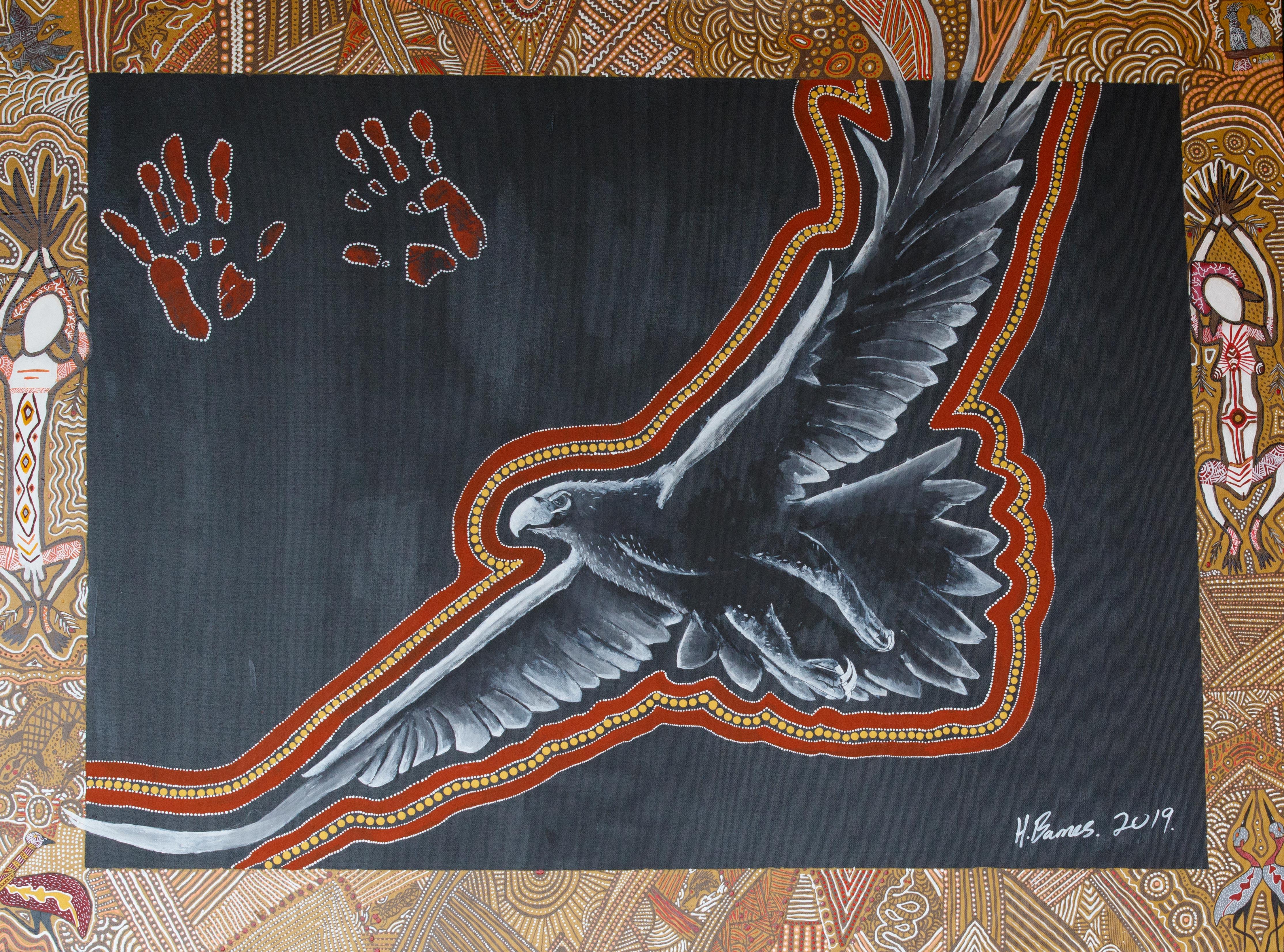 "Hunter Barnes ""Maliyan - Eagle Spirit"" - Guest Artist"