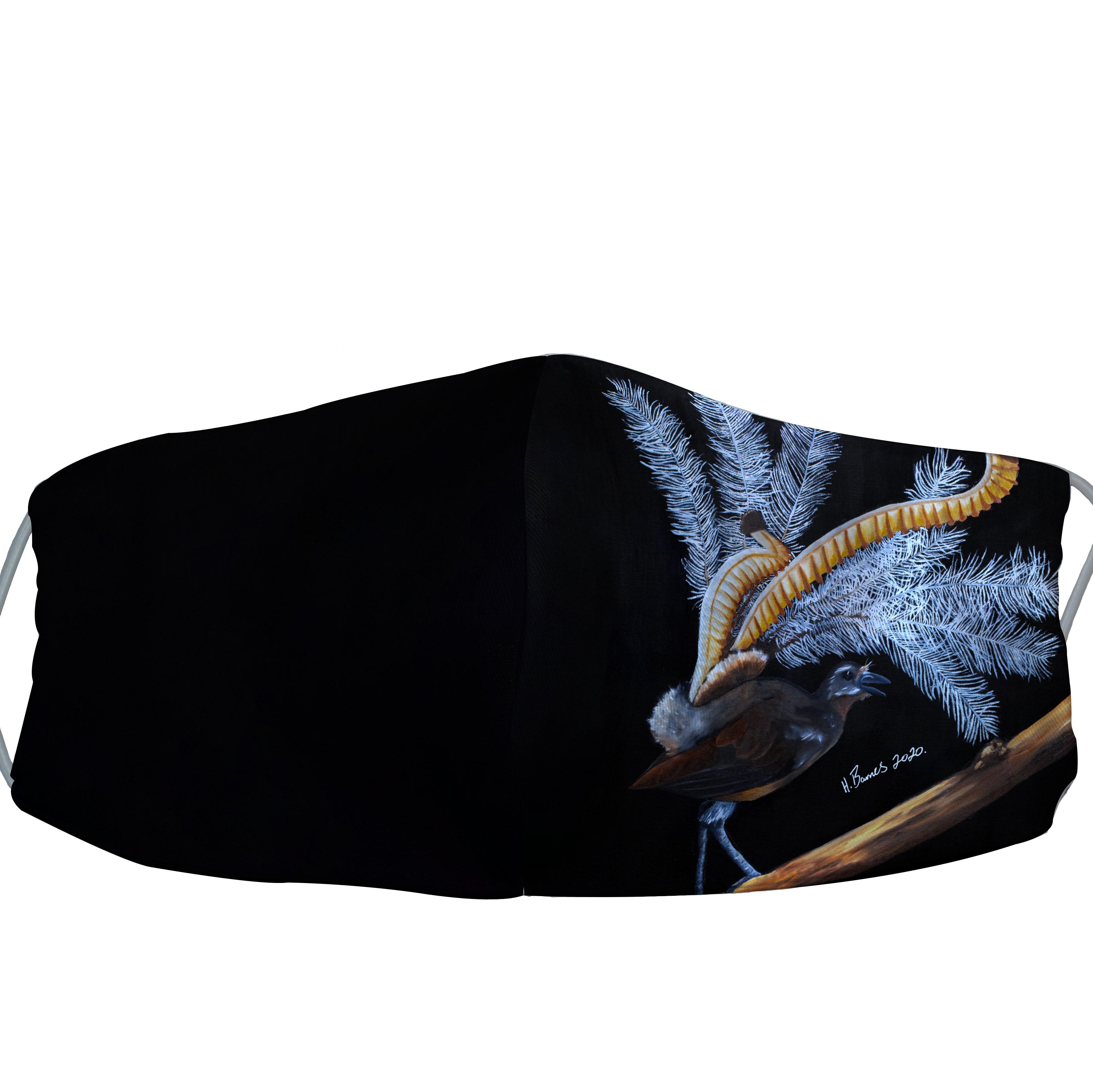 SOLD OUT - Native Lyrebird - Hunter Barnes Facemask