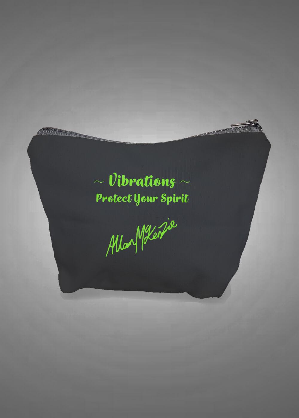 Tribe - Vibrations Cosmetic/Purse Bag back