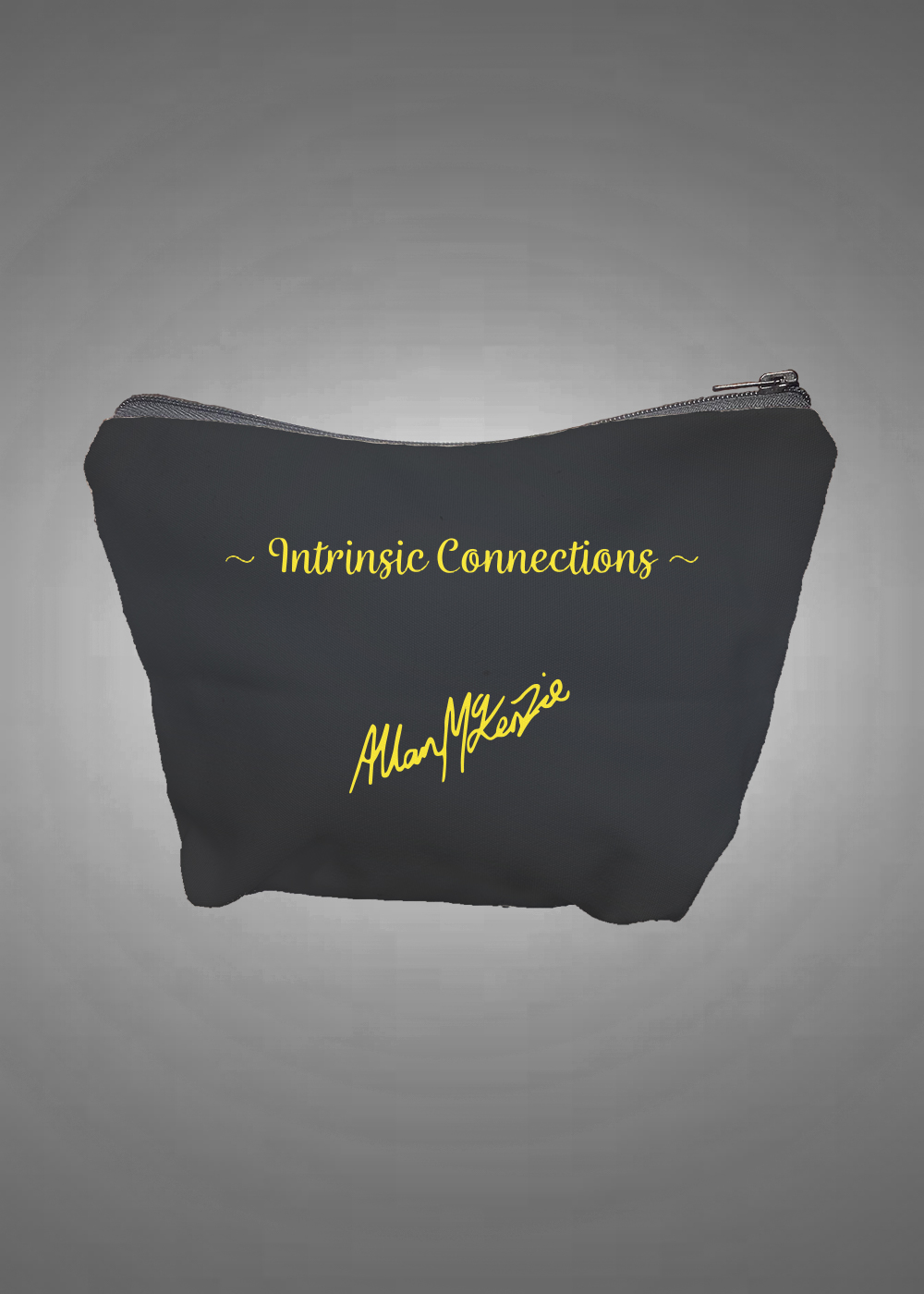 Intrinsic Connection Cosmetic/Purse Bag  back