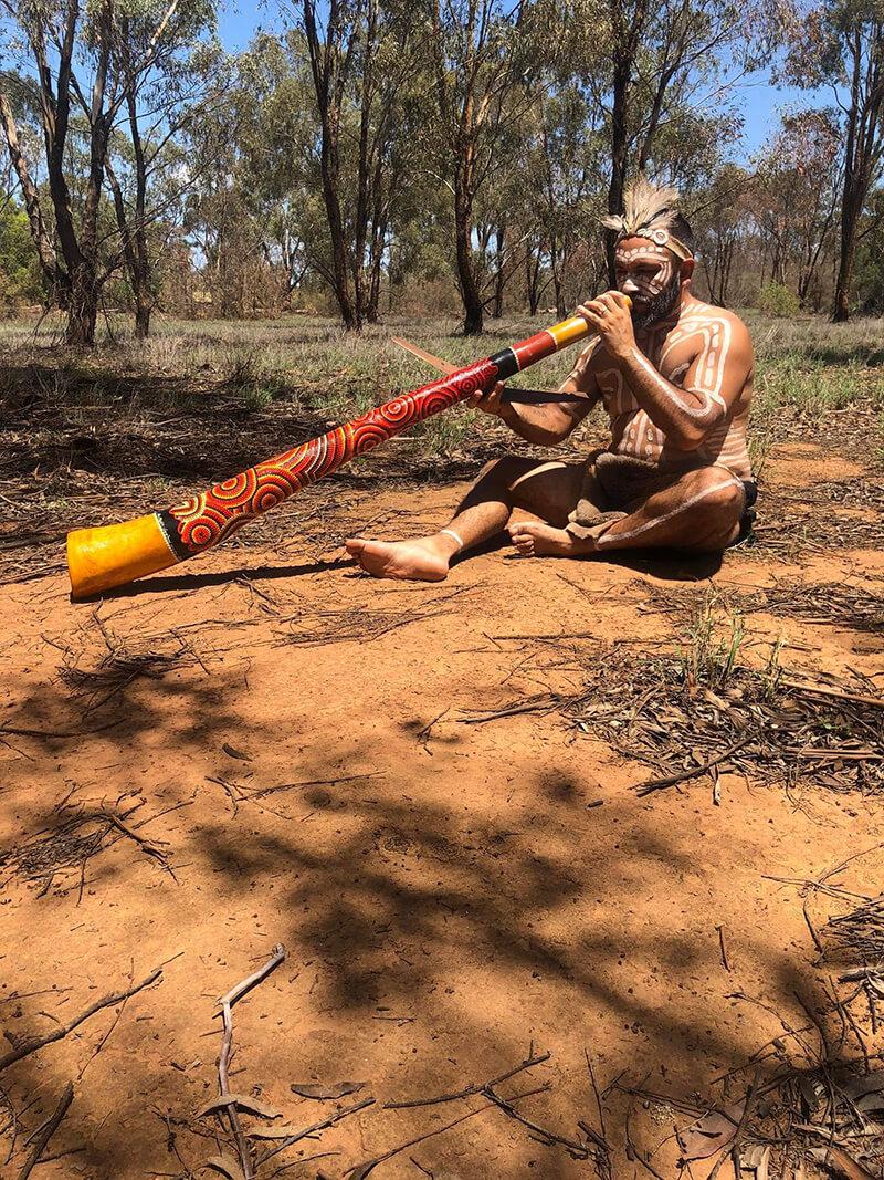 Bloodwood Spirit Didgeridoo - Allan McKenzie