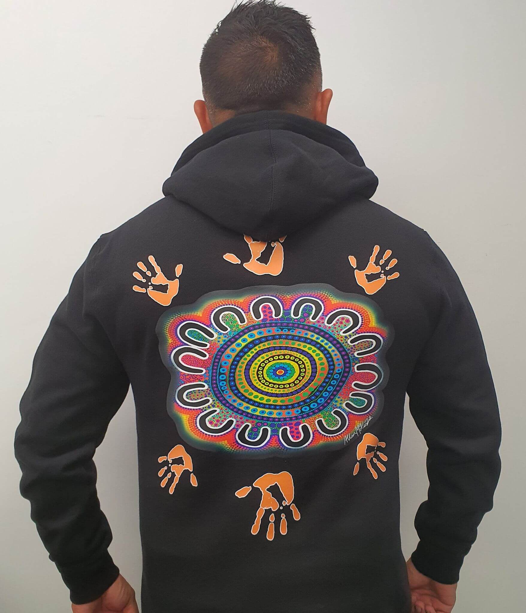 AMAA Tribal Vibrations Circle Hoodie