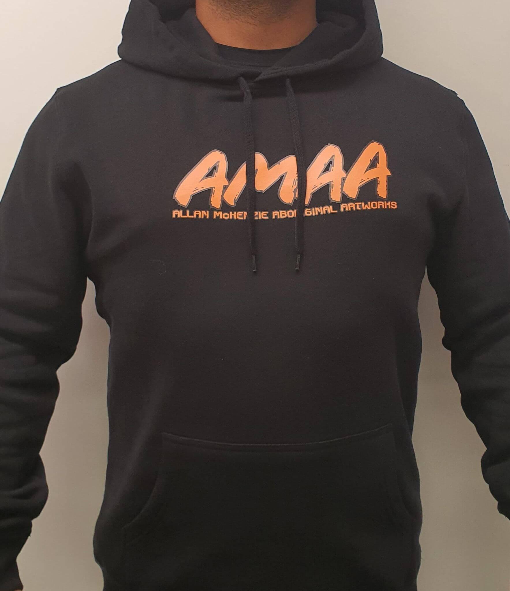 AMAA Tribal Vibrations Circle Hoodie