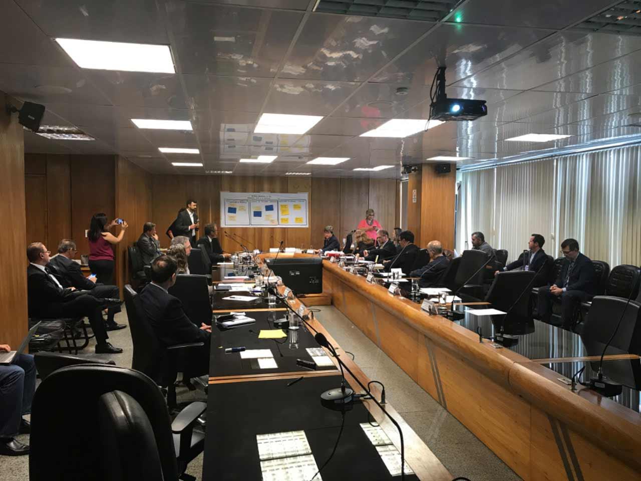 Foto da reunião do CNPC