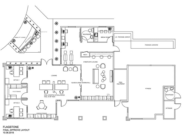 Model living room image