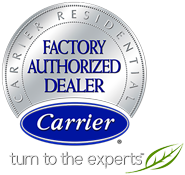 Frontier Air Conditioning is a Carrier Factory Authorized dealer