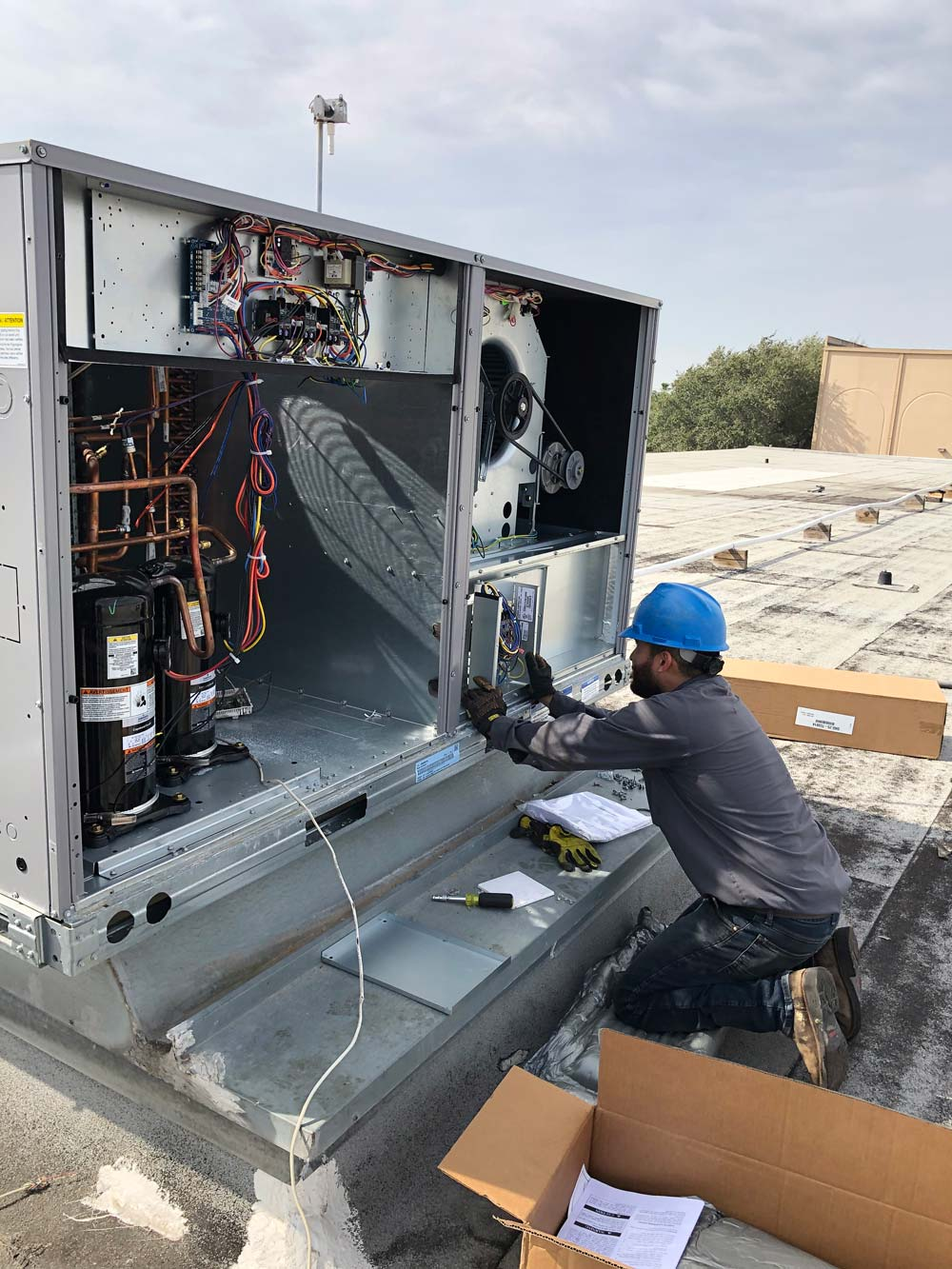 Commercial HVAC repair in Mission, TX