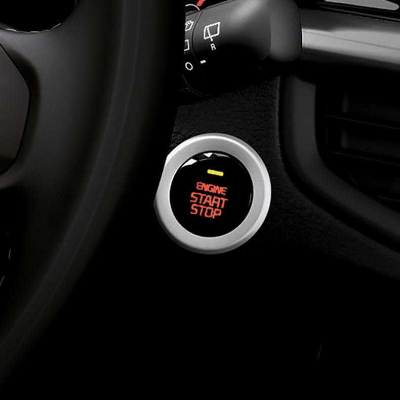 Пуск двигателя кнопкой и система бесключевого доступа