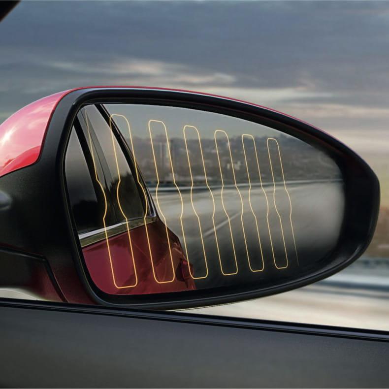 Обогрев боковых зеркал