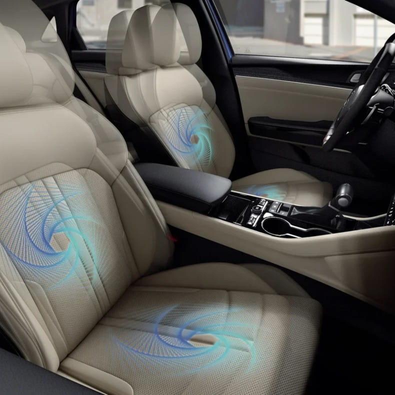 Электропривод и вентиляция передних сидений