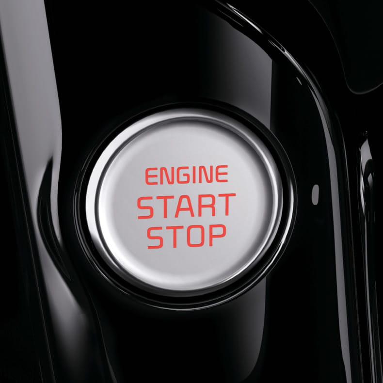 Пуск двигателя кнопкой