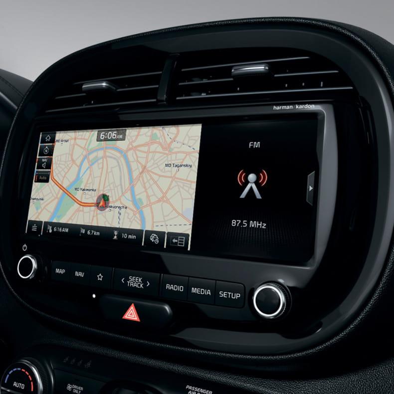 """Мультимедиа-система с дисплеем 10,25"""" и навигацией"""
