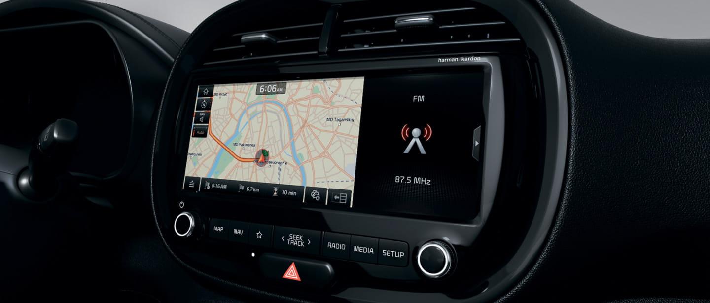 """Мультимедийная система с дисплеем 10,25"""" и навигацией"""