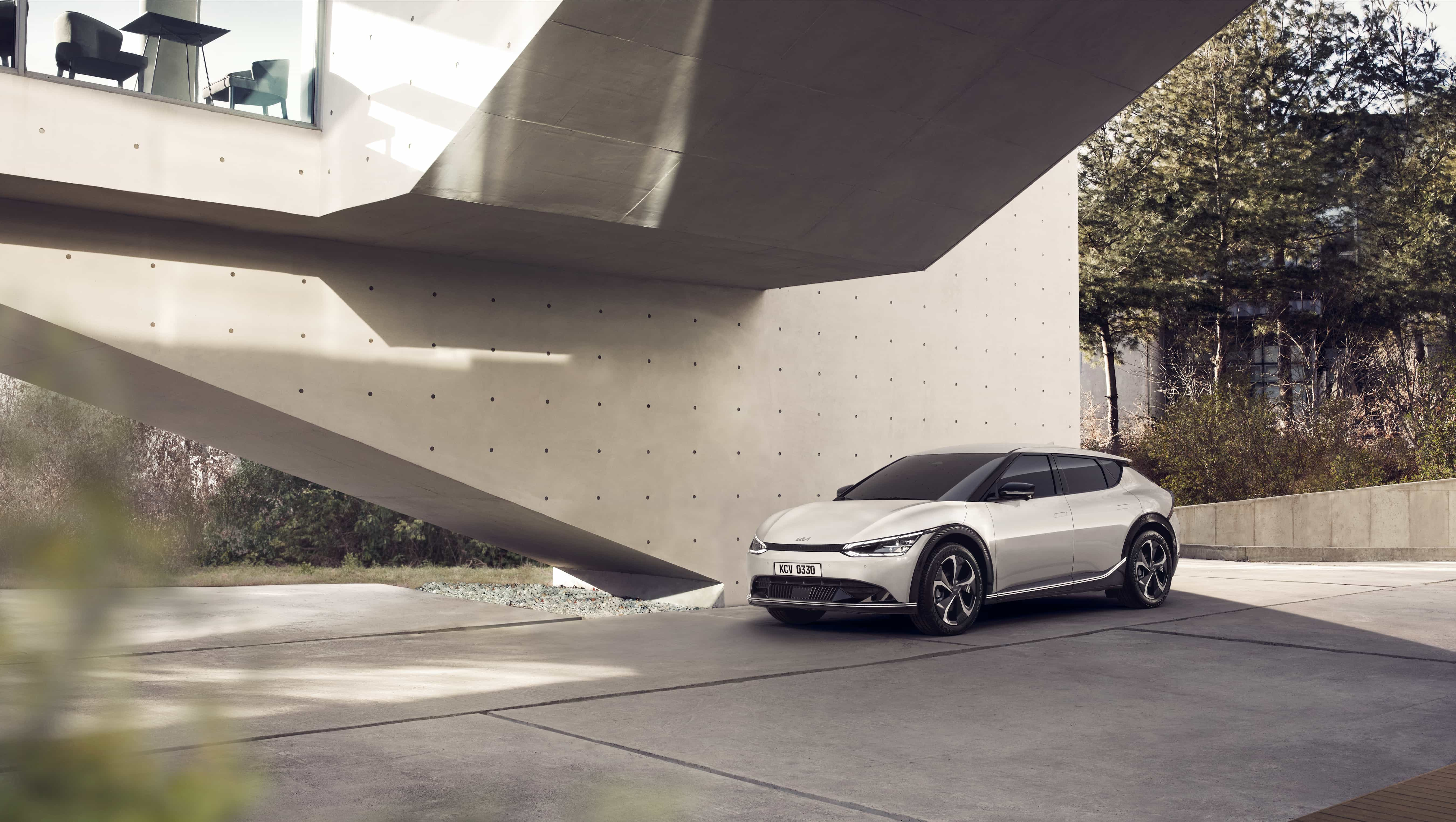 EV6 – новая глава в истории марки Kia